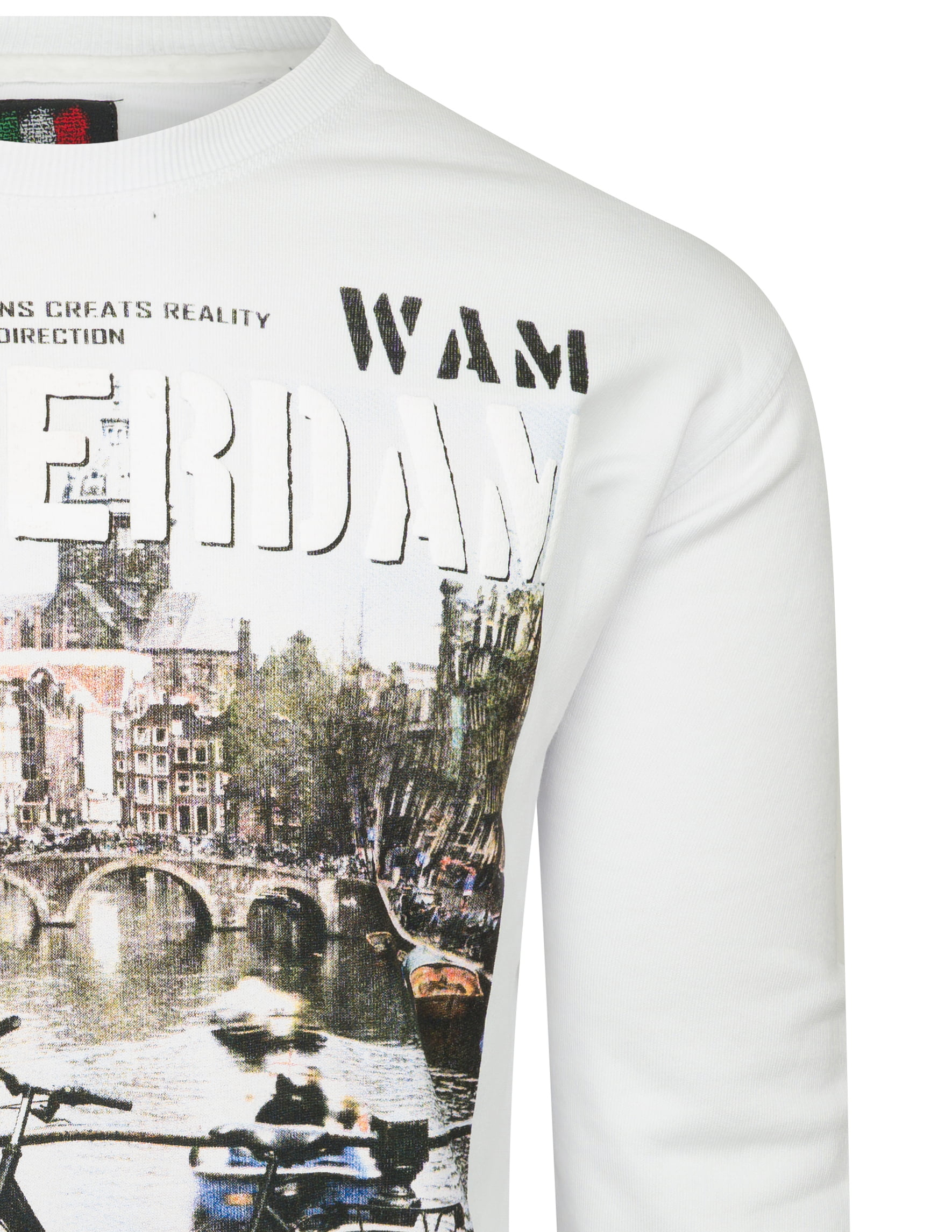 Trendy Italia Style trui van Wam Denim. De sweater is