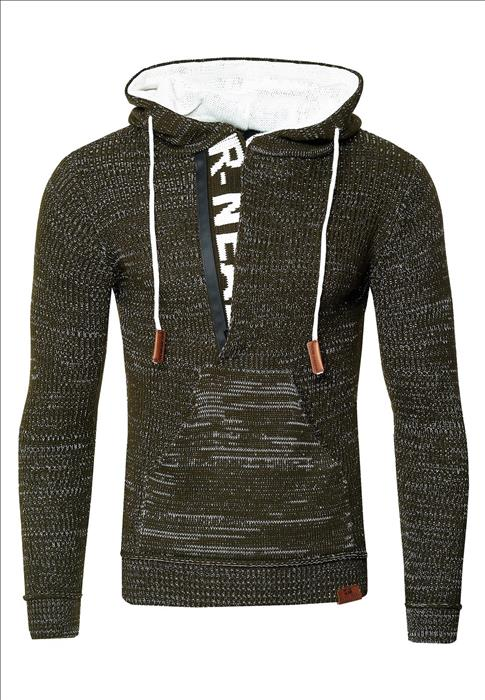Trui heren winter Rusty Neal Italian Fashion kaki