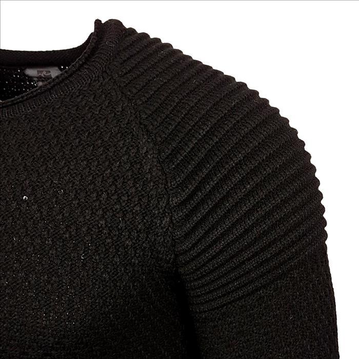 Trui heren winter Rusty Neal Italian Fashion zwart