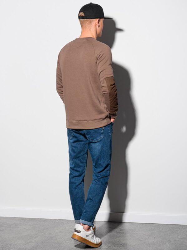 heren sweater bruin