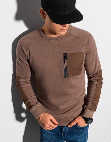 sweater heren bruin