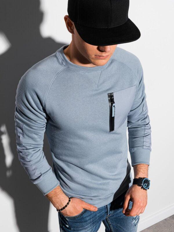 sweater heren lichtblauw