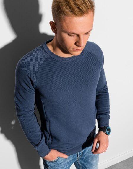heren sweater navy b1156