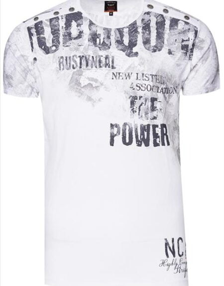 t-shirt-heren-rusty-neal-wit