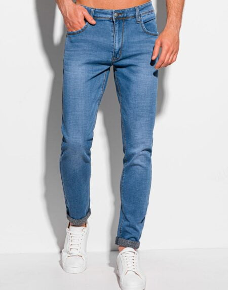 spijkerbroek heren blauw