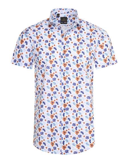 heren blouse korte mouw