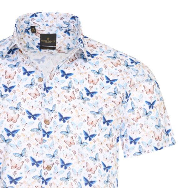 overhemd korte mouw heren