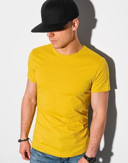 heren t shirt geel
