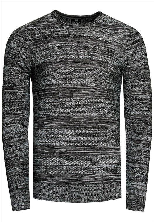 heren rusty neal trui zwart