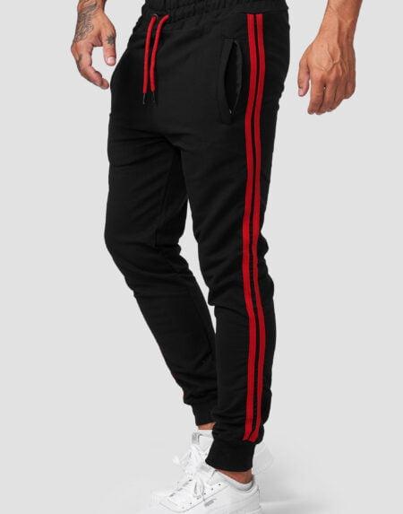 heren joggingpants zwart ro 1642