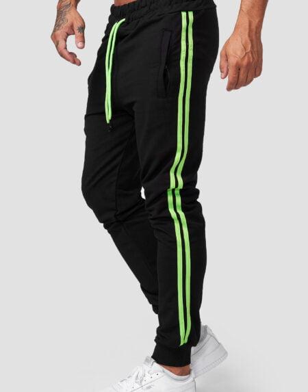heren joggingpants zwart gr 1642