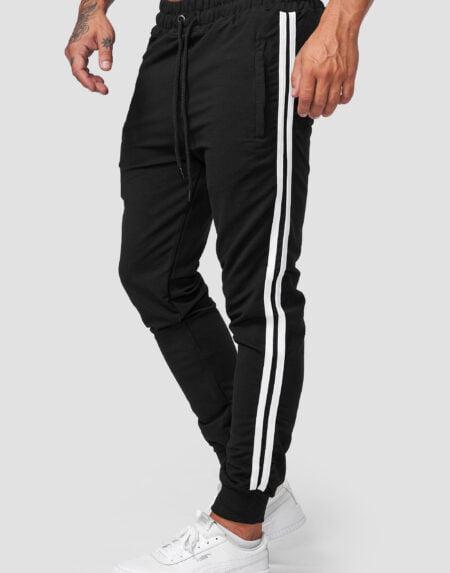 heren joggingpants zwart wi 1642