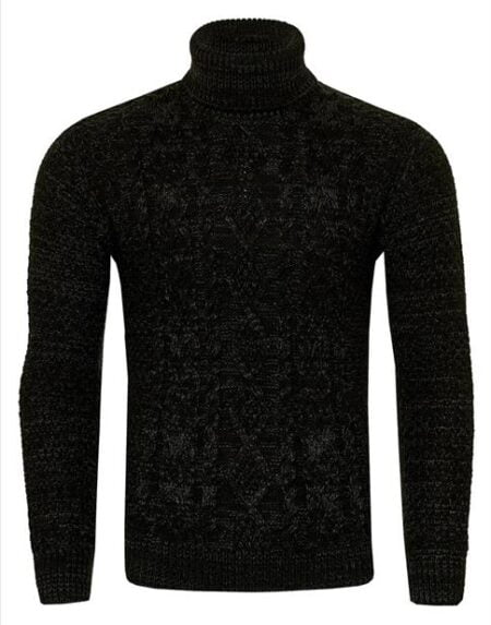 heren trui zwart